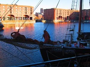 Le fameux port de Liverpool