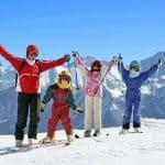 Vacances au ski réussies pour toute la famille