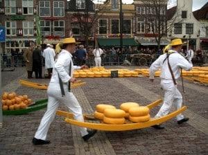 Théâtre du fromage à Amsterdam