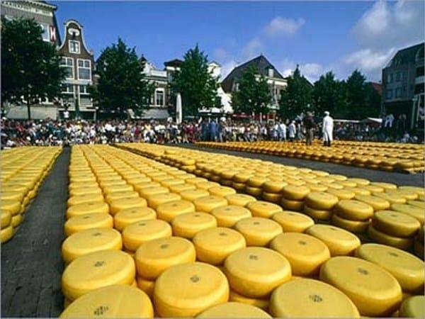 marchés du fromage Alkmaar