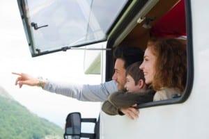 voyage famille camping car