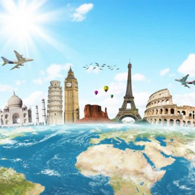 monuments typiques des grandes villes du monde
