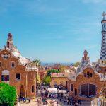 Vue du Parc Guell à Barcelone