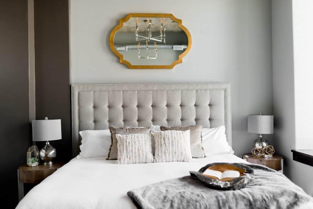Chambre à coucher dans location