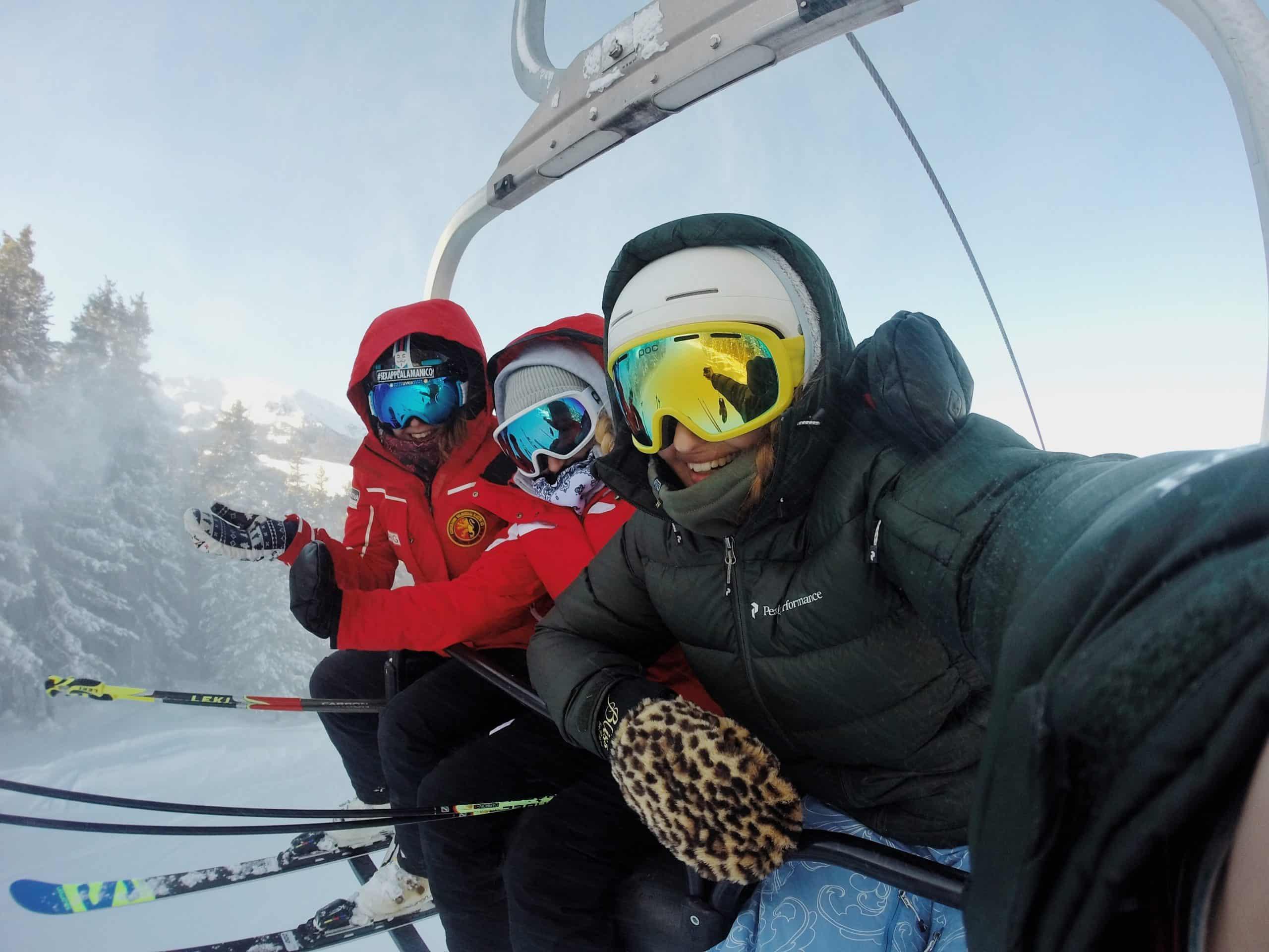 weekend au ski a la plagne